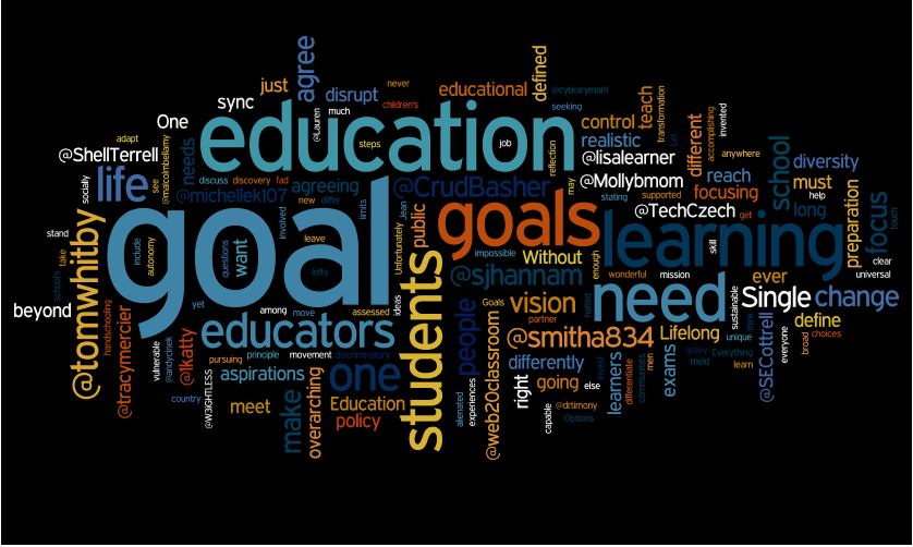 a look at the goals of education Are you looking for ways to integrate data into the school improvement process   problems and needs, select improvement strategies and goals, initiate.